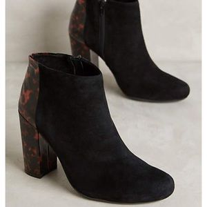 Anthropologie Farylrobin Tegan Tortie Booties